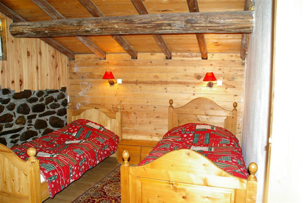 chambre 2 lits ptt chalet