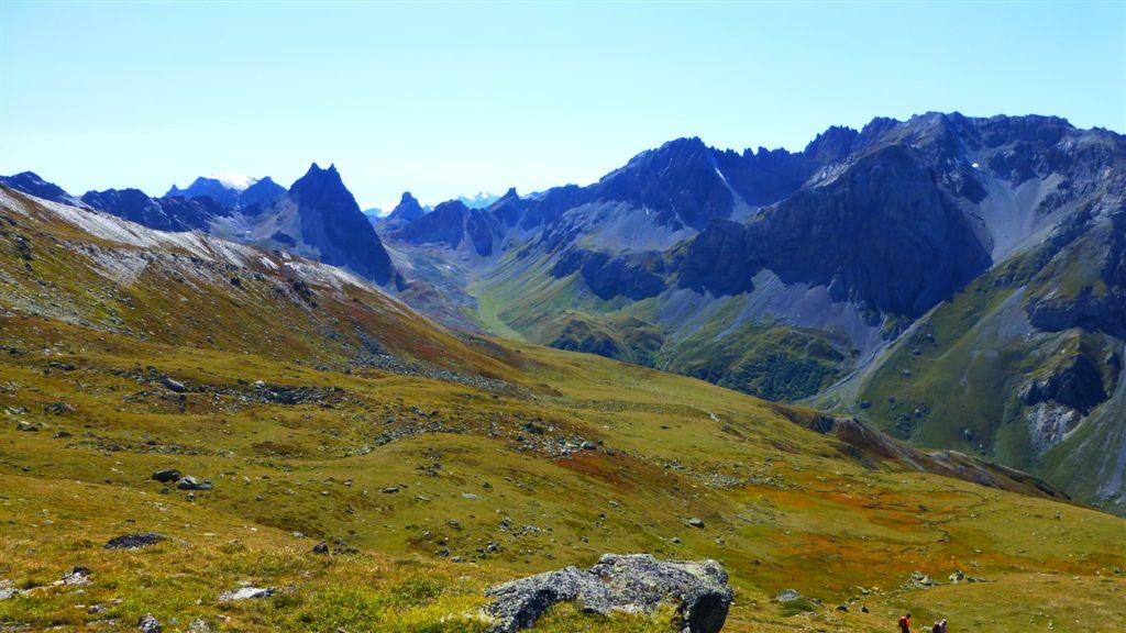 Dans la vallée de l'Aiguille Noire (Valloire)
